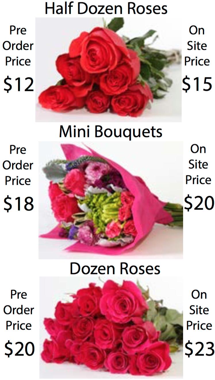 Flower bouquet choices