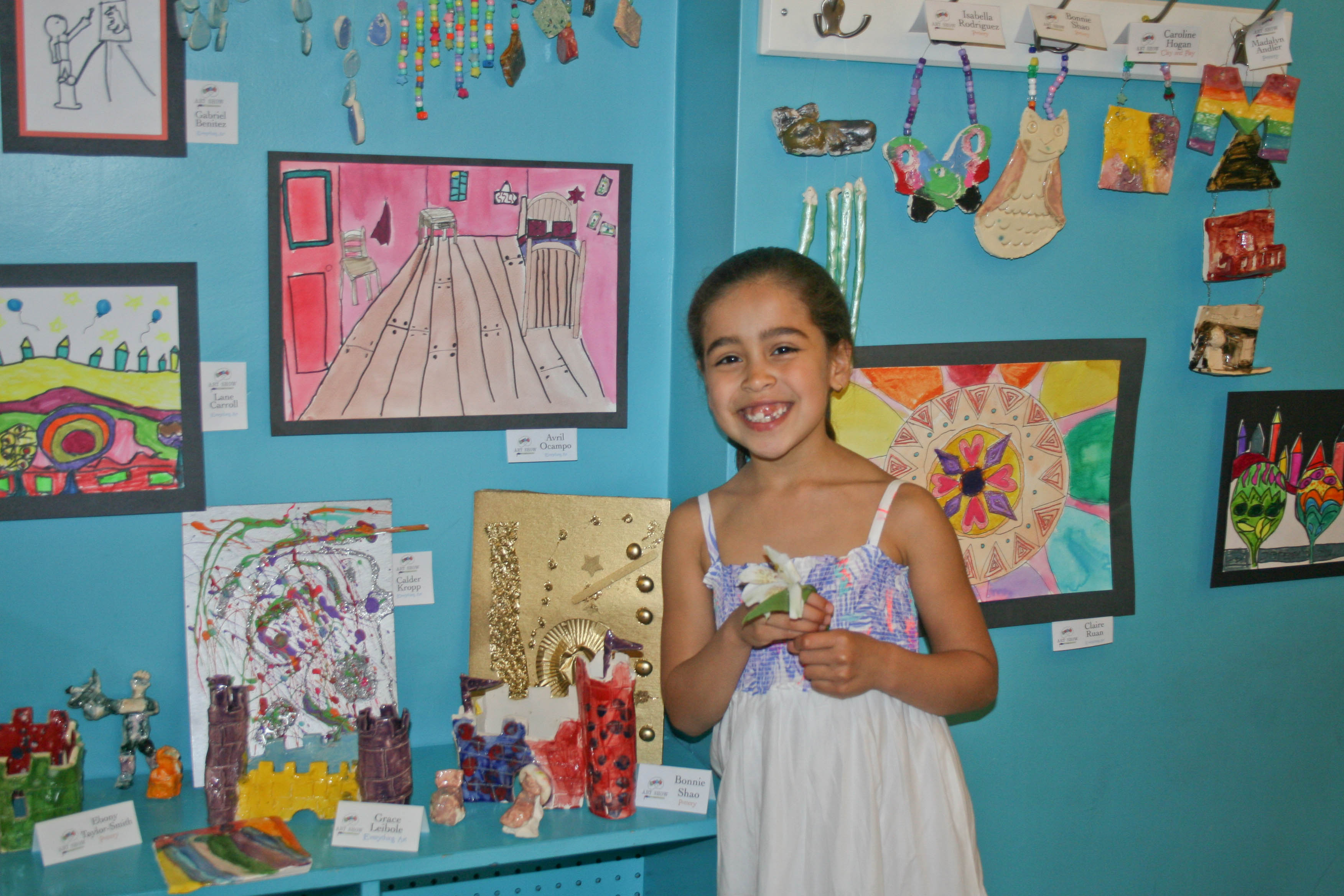 LINX Art Students Share Masterpieces At Spring Show