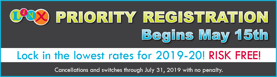 Priority Registration Opens